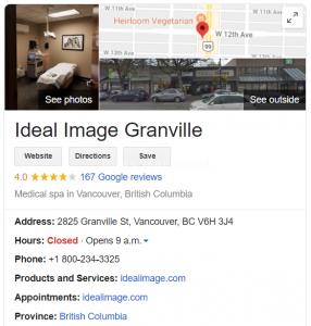 Ideal Image Granville医美诊所